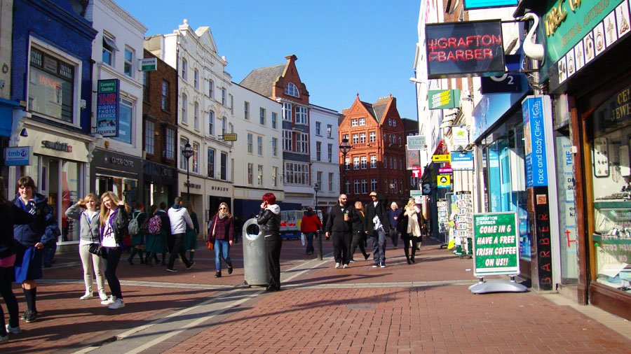 Corsi di inglese a Dublino con o senza alloggio