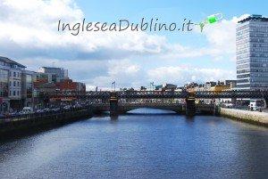 immagine di Dublino dal Liffey