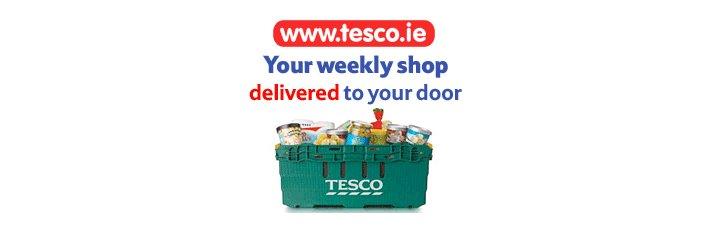 Spesa online su Tesco.ie con consegna a domicilio