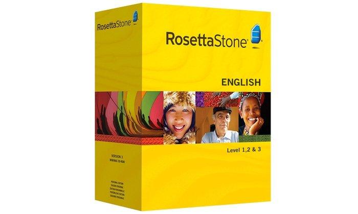 Corso di inglese British Rosetta Stone