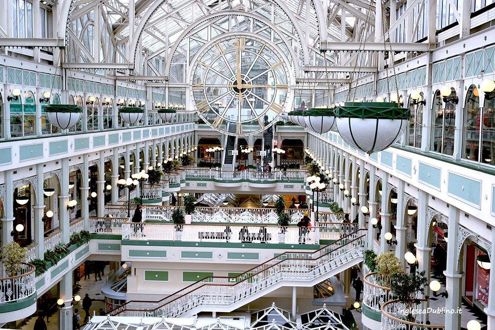 Shopping Centre di Dublino e poi camminata al Parco di St Stephen's Green